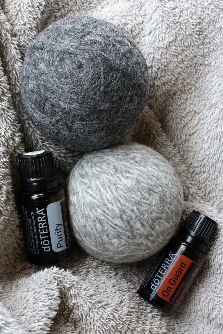 DIY Wool Dryer Balls 10
