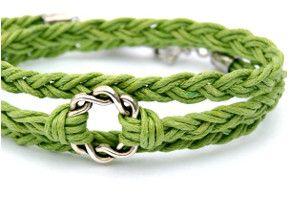 Beginner's Weave Bracelet | AllFreeJewelryMaking.com