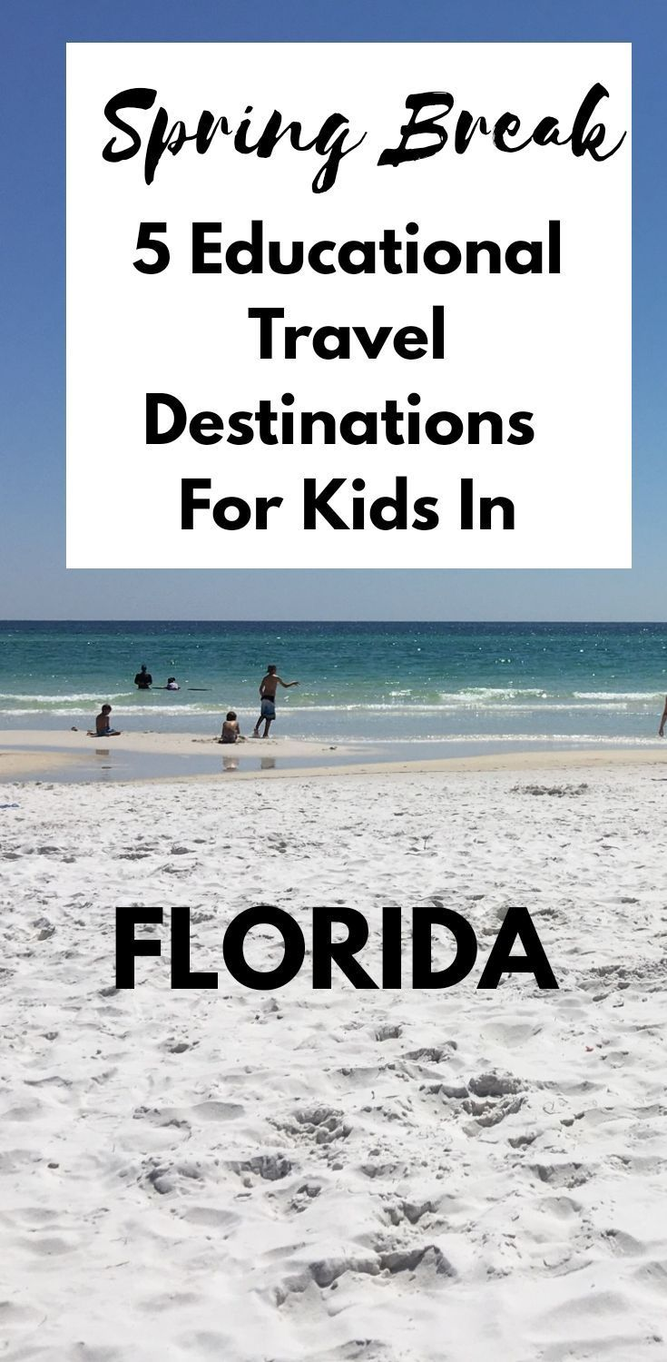 5 Vacation Destinations In Florida Parenting Kissed By The Sun Spring Break Destinations Families Spring Break Destinations Spring Break Florida