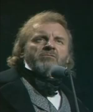 Colm Wilkinson as Jean Valjean...the only Jean Valjean for me