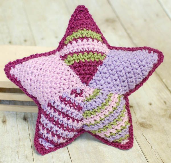 Free Crochet Pattern Christmas Star : Patchwork Crochet Star Patterns, Crochet and Tutorials