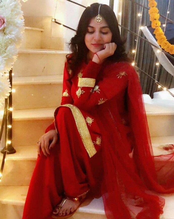 383089bce6 Sanam Baloch In Red Dress | Sanam Baloch in 2019 | Dresses ...