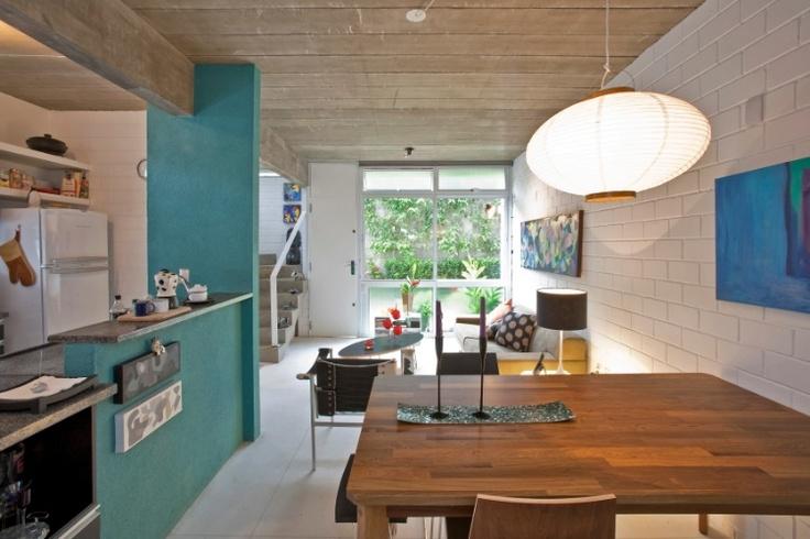 """""""Vilinha"""" na Grande São Paulo oferece espaço para moradia e trabalho em triplex - Casa e Decoração - UOL Mulher"""