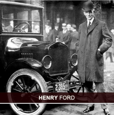 the early works and successes of henry ford The model t proved to be such a great financial success for ford he reduced the daily work it eventually became cadillac via henry leland henry ford`s.
