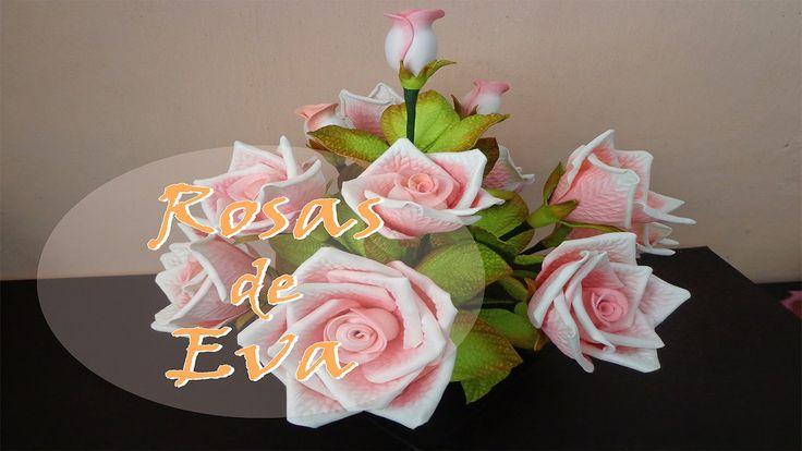 Arranjo de Rosas em Eva