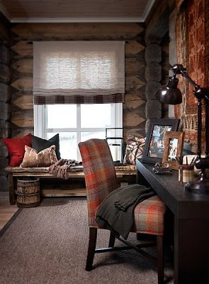 Stockholm Vitt - Interior Design: Chic Ski Lodge