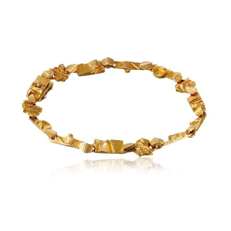 TENOCHTITLAN  Design Björn Weckström / Gold Bracelet / Lapponia Jewelry / Handmade in Helsinki