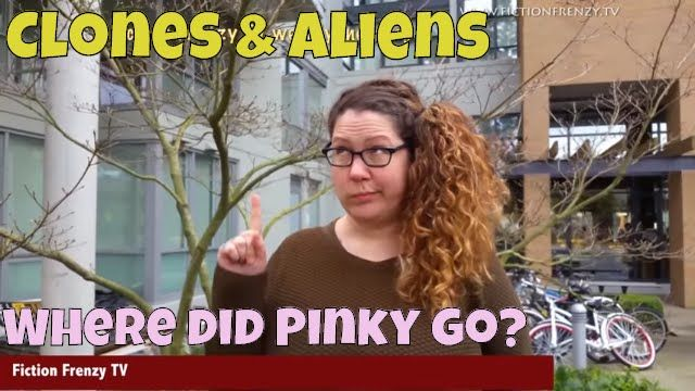 Clones and aliens - Where did Pinky go? VLog parody skit E38S2 Fiction Frenzy TV vlog