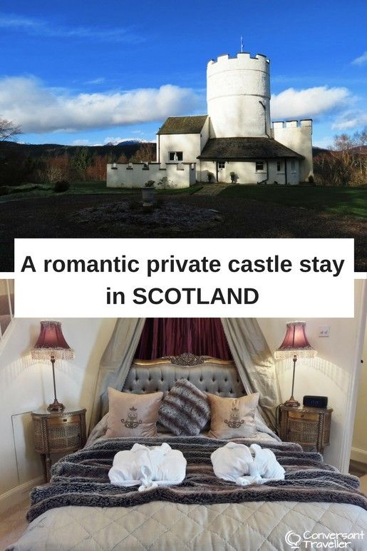 Staying in a private castle with a hot tub near Loch Tay in Scotland - the White Tower of Taymouth Castle