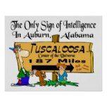 Alabama vs Auburn Rivalry Poster
