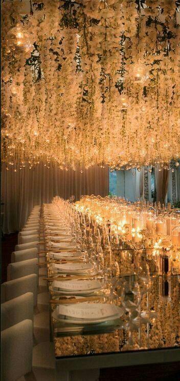 candles everywhere #lebaneseweddings #tablesetup #tabledecoration #inspiration