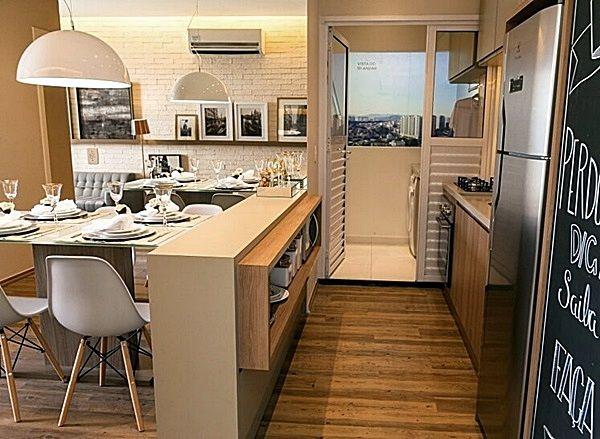 Como Dividir Sala E Cozinha Pequenas 16 Ideias Dicas E Medidas