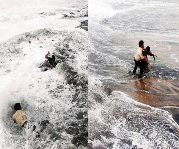 Cyclone Hudhud: 5 killed in AP, Odisha- The Navgujarat Samay Photogallery
