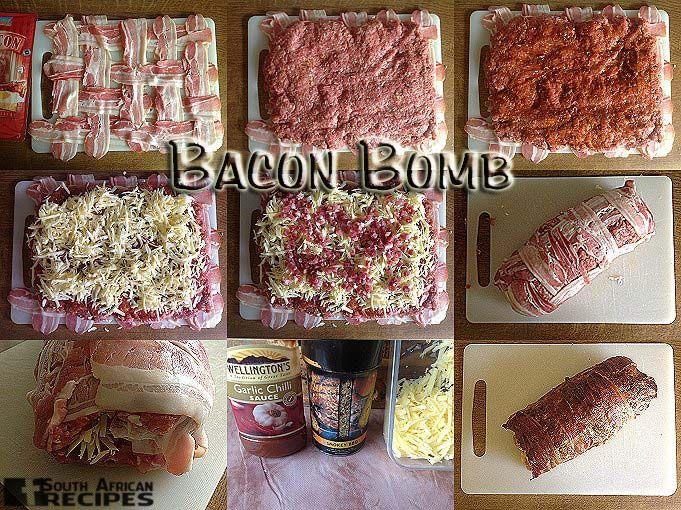 South African Recipes BACON BOMB:  (Karena Profe Bosdorf)