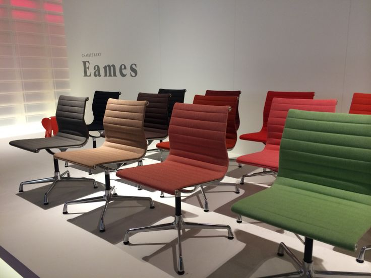 The Aluminium Chair By Charles U0026 Ray Eames For Vitra. Salone Del Mobile  2014 Milano