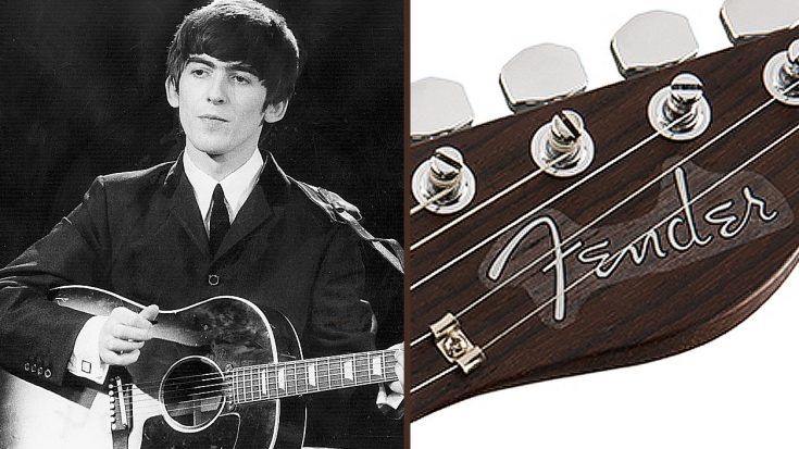 George Harrison Has A New Signature Guitar And Folks, It's A Thing Of Beauty..