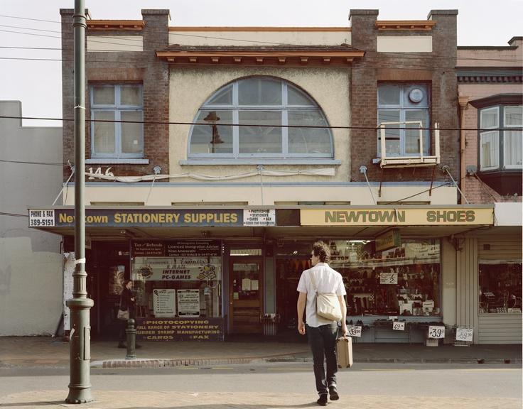 Allan McDonald, Newtown, Riddiford Street, 2008, C-type photograph mounted on diabond, Edition of 3