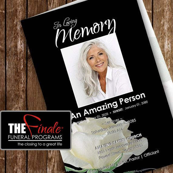 17 best order of service images on Pinterest Memorial service - funeral brochure template