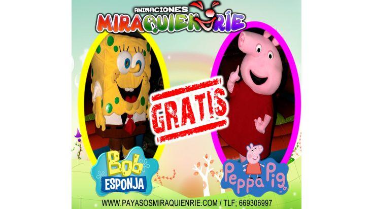 PEPPA PIG O BOB ESPONJA GRATIS!!