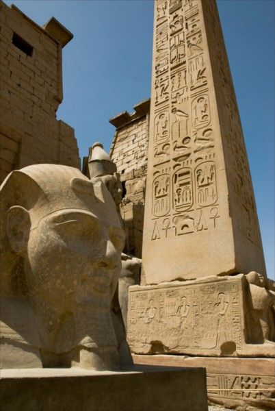Luxor Temple on the bank of the Nile River, Luxor, Egypt  (via  Travel Photography | The Indie Travel Podcast)