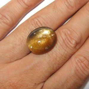 Exotic Star Sunstone 16.83 carat untuk cincin koleksi
