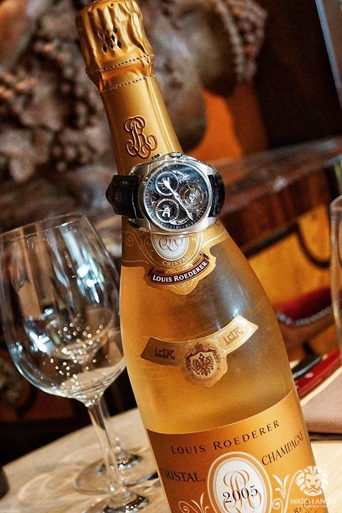 Cristal Champayne, my personal favorite way to toast the New Year!