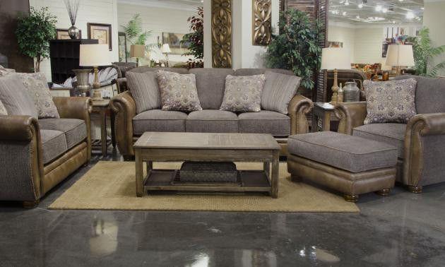 Jackson Furniture - Pennington 2 Piece Queen Sleeper Sofa Set in Pewter - 4439-04-02-PEWTER