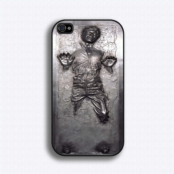 iPhone Solo the little man is trying to get out!!!Iphone Cases, Iphone 4S, Star Wars, Phones Cases, Stars Wars, Iphone 4 Cases, Hans Solo, Starwars, Carbonite Iphone
