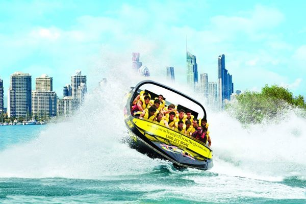 """Paradise Jetboating is the new """"must do"""" adventure activity on the Gold Coast. Great FUN and SAFE for the whole family, a holiday on the Gold Coast isn't complete without experiencing this exciting activity."""