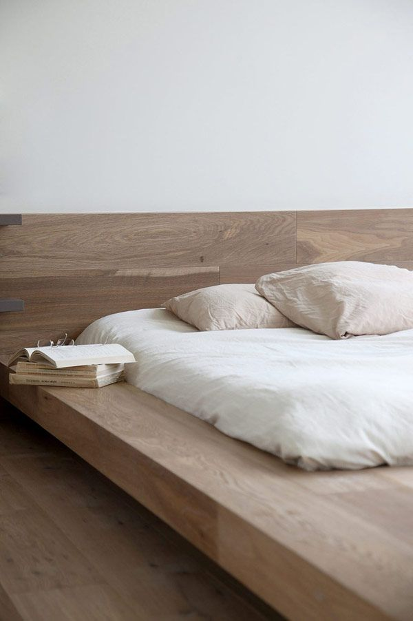 Home Design and Interior Design Gallery of Appealing Minimalist Bed Frame Japanese Influences
