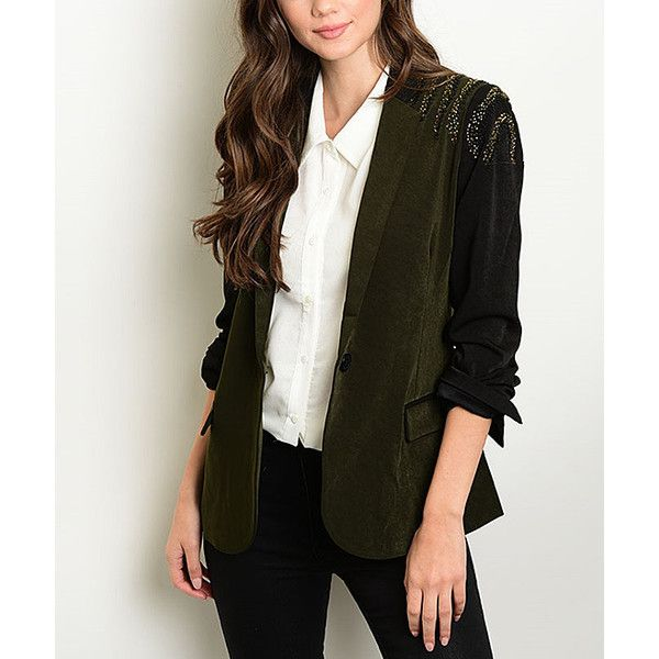 17 Best ideas about Olive Green Blazer on Pinterest | Work clothes ...