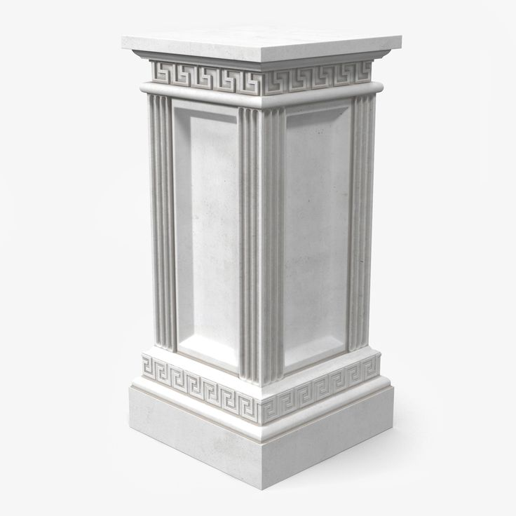 3d Column Base Greco Roman Pinterest