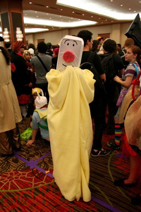 Blankie costume from Brave Little Toaster.  I had to pin this! So many memories!