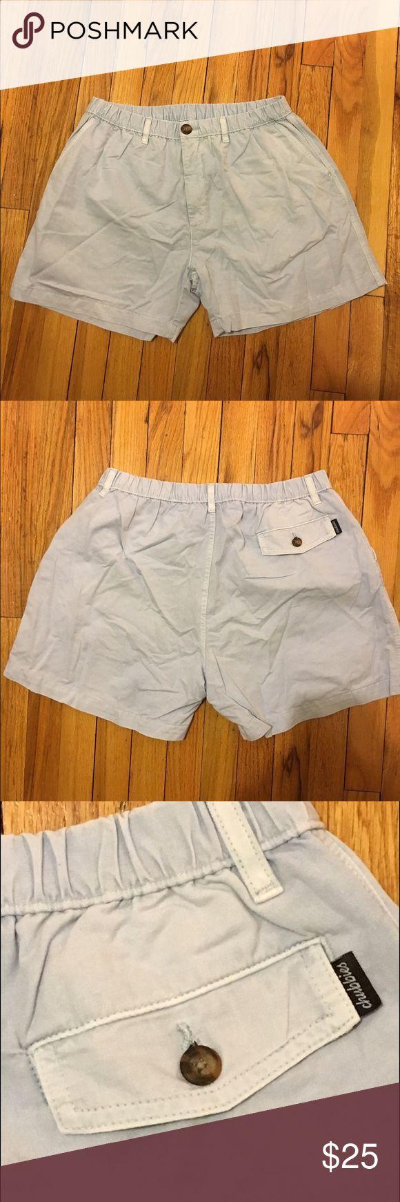 "Chubbies *Brand New* Light Blue Shorts Chubbies light blue shorts. Elastic waistband and zipper closure. 100% cotton. Size XL. Fits waist size 34-37"". Never been worn. Chubbies Shorts Flat Front"