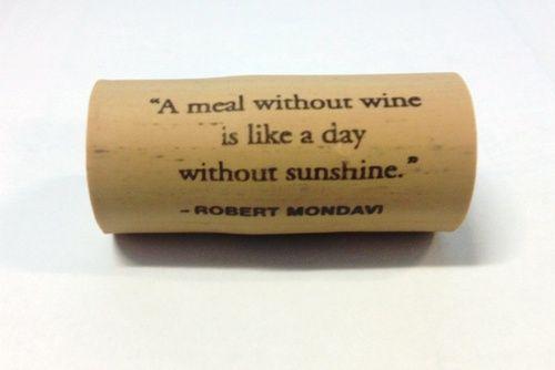 A Wine Cork Isn't Just a Wine Closure Anymore! (Robert Mondavi Cork) at Wine4.Me