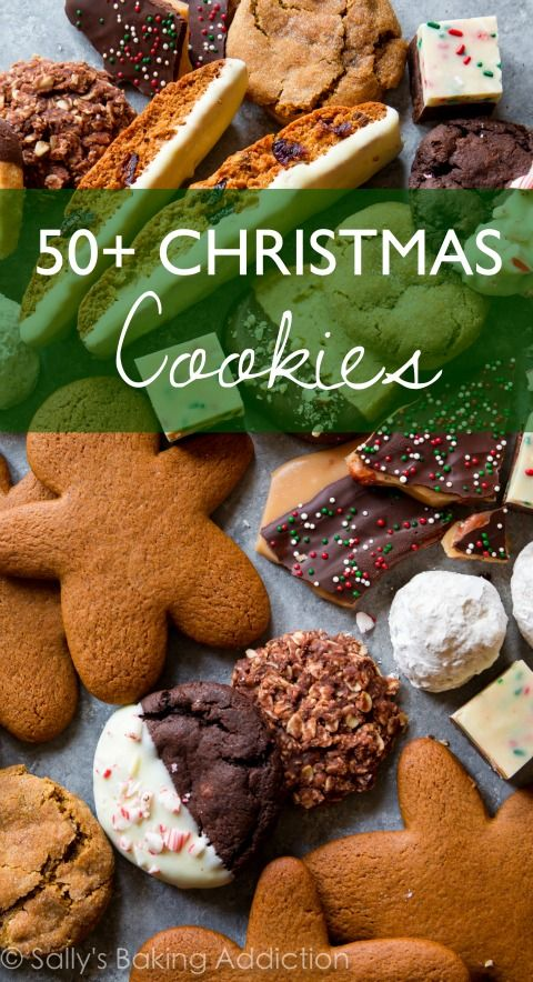 50+ Favorite Christmas Cookie Recipes. | Sally's Baking Addiction | Bloglovin'