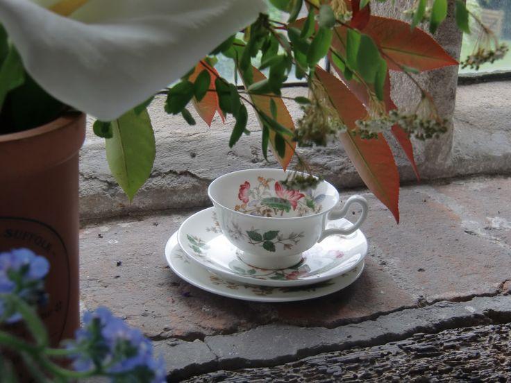 Tea Time in der Bourne Mill, Colchester, Essex