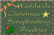 Oh fun, a freebie Christmas digital scrapbooking kit!!!  Now all I need is photos!!