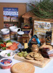 An Orkney Islands Food Hamper Box