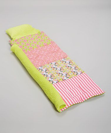 On sale today!   #zulily! Yellow Baby Mine Personalized Quilted Nap Mat by Janiebee #zulilyfinds