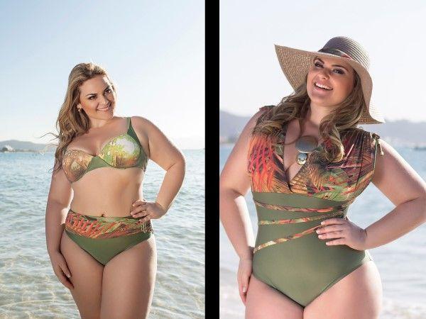Dicas de moda praia para mulheres plus size - 1 (© Fotos: Divulgação - Acqua Rosa; Bikini Samba Brazil; Lehona Moda Praia)