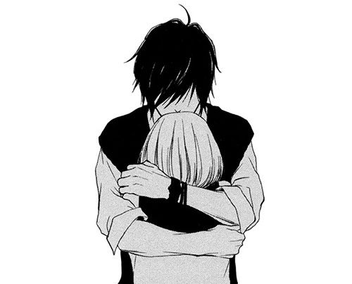 17 best images about cute anime couples on pinterest - Fotos de parejas en blanco y negro ...