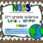 Next Generation Science Standards 2nd grade Science: Land & Water Model 2-ESS2-2 Develop a model to represent the shapes and kinds of land and bodies of water.  Includes:   •Land forms posters & bodies of water posters  •Step by step instructions for making the model  •easy Modeling Dough Recipe  •Land/Water Model Labels  •Land/Water Model student example pictures  •Land/Water Model parent letter  •Land/Water Model student grading Rubric  •Student practice pages $5