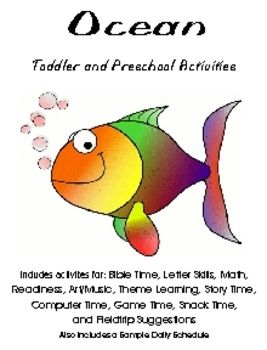 Ocean theme activities archives | the preschool toolbox