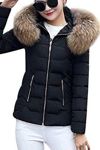 Manteau veste capuche fourrure