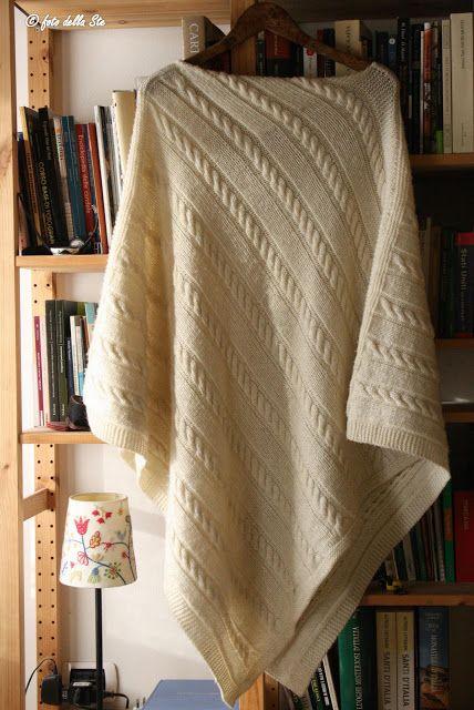 La casa della mamma: Mantella irlandese realizzata a maglia