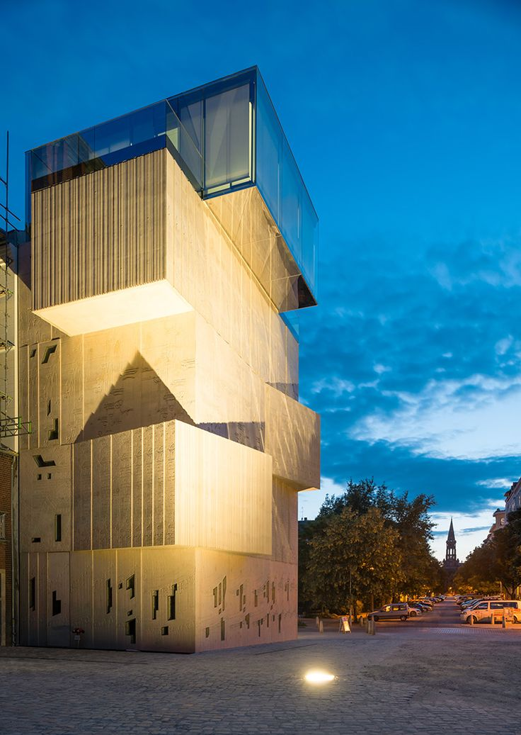 Museum for architectural drawings of the Tchoban Foundation #museum
