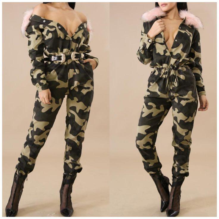 "25 Likes, 1 Comments - Wildlifeapparel (@wildlifeapparel_) on Instagram: ""Jade camouflage jumpsuit now ||www.shopwildlifeapparel.com"""