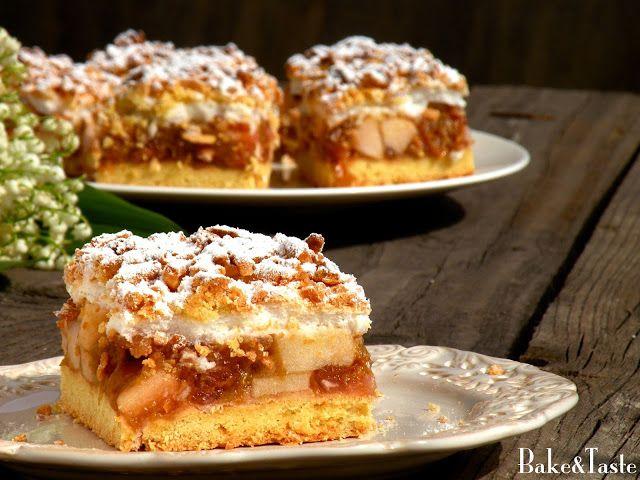 Bake&Taste: Szarlotka z rabarbarem i jabłkami