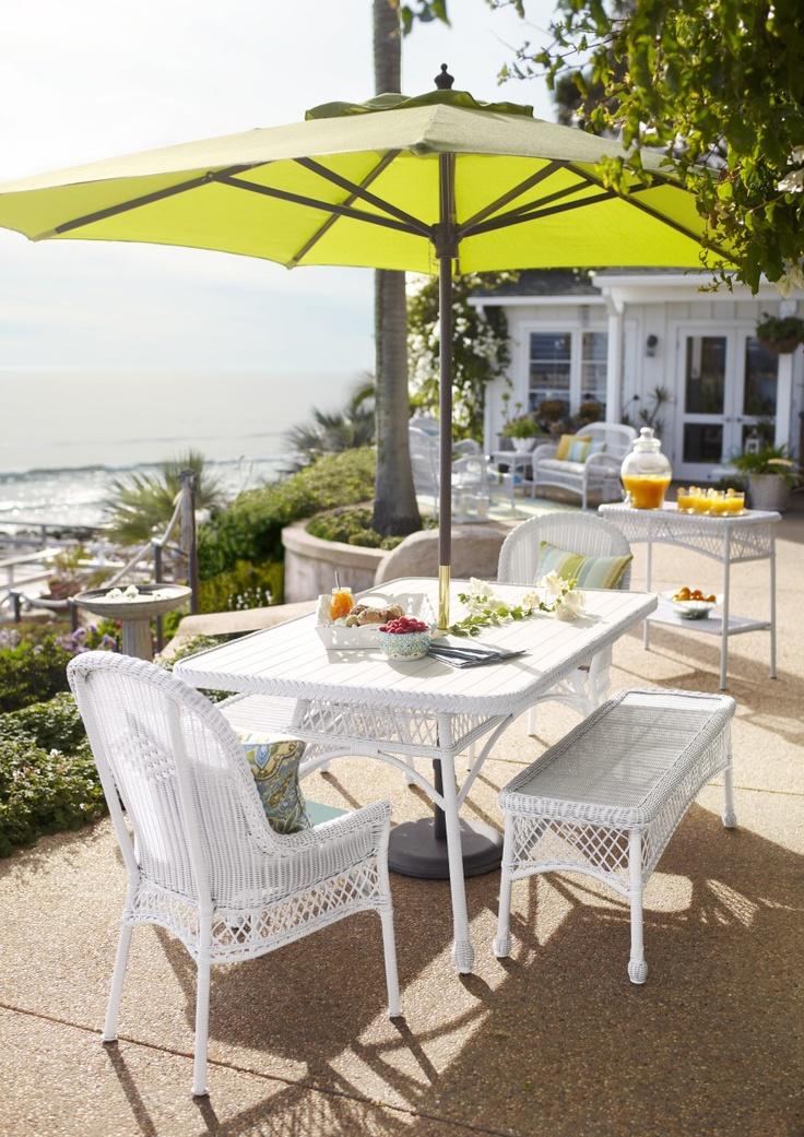 Nice Santa Barbara White Dining Chair